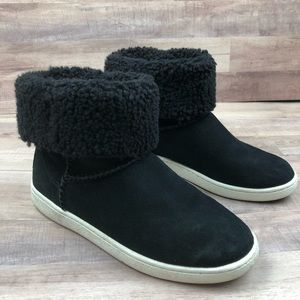 UGG Mika Black Sneaker Boot with Box